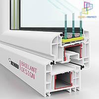 Окна Rehau Brillant - ПВХ системы класса люкс, фото 1