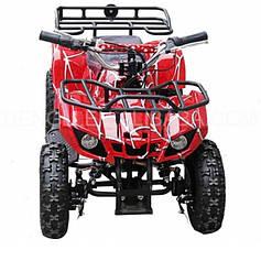 Детский квадроцикл AT HL-E421F Red, мотор 800W 36V