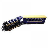 Масштабная модель Технопарк Паровоз с вагоном