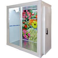 Холодильная камера МХМ КХ-4,41 (со стеклопакетом, двери купе)