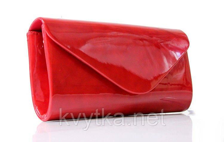 cc95f083e75c Клатч лаковый красный, цена 489 грн., купить Рівне — Prom.ua (ID ...