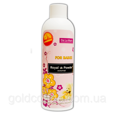 Гель Royal Powder Baby 1 L. Концентрированное бесфосфатное жидкое средство для стирки детских вещей