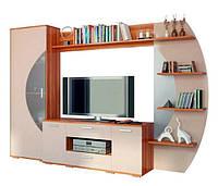 """Мебель для гостиной """"Ольвия нова"""" макиато глянец (Сокме)"""