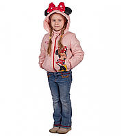 Куртка демисезонная на девочку Минни Мауз