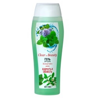 Clear&Beauty Гель для душа Зеленый Чай и Мята Бодрость и Свежесть 500 мл.