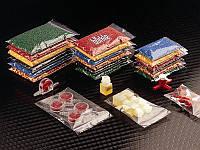 2348-0005 Пакеты упаковочные с замком-молнией, 400 мл, 170х120мм, упак. 100шт.