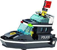 Конструктор Brick 130 Полицейский катер 95 деталей, фото 1
