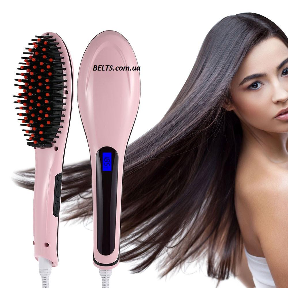 Расческа – выпрямитель Fast Hair Straightener (утюжок для выпрямления волос, плойка Фаст Хе Стрейтнер)