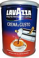 Кофе молотый Lavazza Crema e Gusto, ж/б, Италия, 250 г
