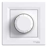 EPH6400121. Светорегулятор Поворотный Белый ASFORA
