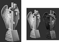 Ангел с крестом-СК-001