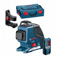 Линейный лазерный нивелир (построитель плоскостей) Bosch GLL 2-80 P + BM1 (новый) в L-Boxx (0601063208)