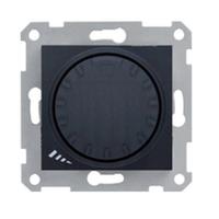 SDN2200570. Димер индуктивный поворотно-нажимной. Графит. Sedna