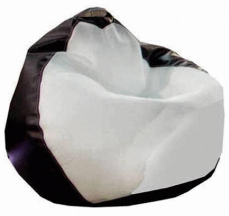 """Кресло-груша """"Белладжио"""" бело/коричневая, фото 2"""