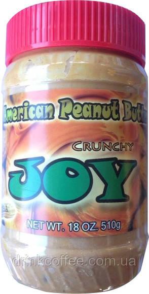 Арахісове масло (паста) JOY, з шматочками арахісу, США, 510 г