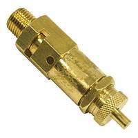 """Предохранительный клапан для компрессора 1/4"""" INTERTOOL PT-5002"""
