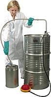 5603-3000 Насос для растворителей ножной, глубина погр. 95 см, 30 л/мин, сливная гибкая трубка и кран