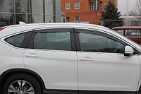 Дефлекторы окон (ветровики) оригинал на Хонда CR-V с 2012> (Китай).