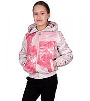 """Куртка ветровка на девочку подростковая """"Рози"""""""