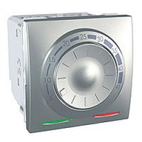 MGU3.503.30. Термостат для теплого пола. С датчиком. 10A. (+5.45°С). Алюминий Unica