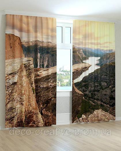 Фотошторы каньон