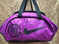 Спортивная сумка для фитнеса Nike, Найк фиолетовая, фото 1