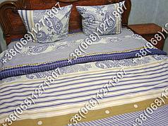 Постельное белье ранфорс - полуторный комплект (0910)