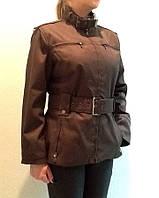 Куртка  женская молодежная ZARA wumen хаки