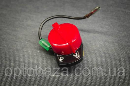 Кнопка Вкл/Викл з одним кабелем для двигунів 6,5 л. с. (168F), фото 2