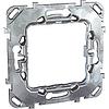 MGU7.002. Суппорт металлический для механизмов Unica. 2-модульный Unica