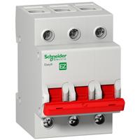 """EZ9S16392. Выключатель нагрузки (мини-рубильник); """"І-О"""";3Р; 400В;125А/5кА"""
