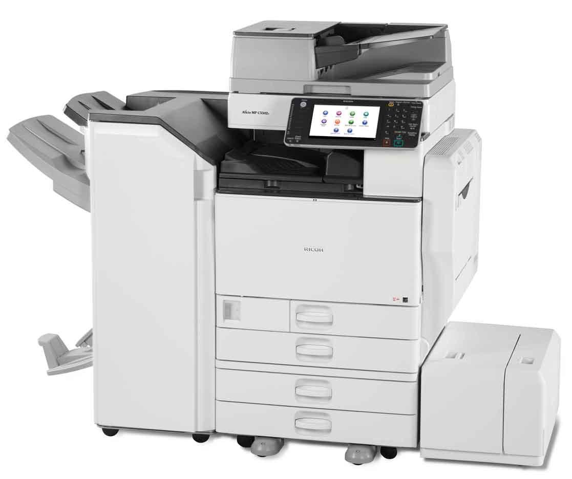 Полноцветный МФУ Ricoh MP C5503ASP формата а3 3в1. Цветная, качественная печать. Высокое разрешение печати.