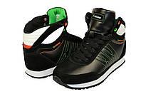 Женские кроссовки завышенные rst 14303blak чёрные   весенние