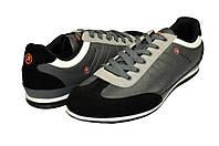 Мужские кроссовки повседневные rst wmo13087 серые   весенние