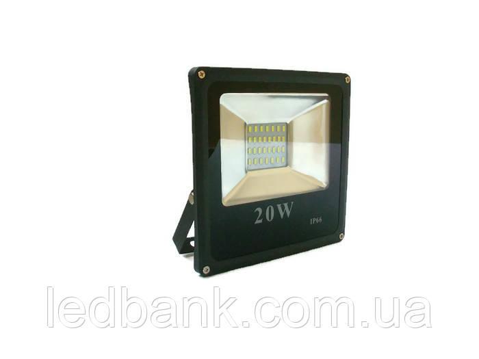 Светодиодный прожектор 20 Вт SMD LED 6000К