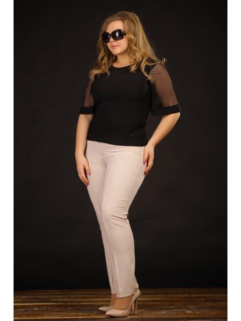 Трикотажные женские брюки больших размеров