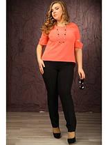 Трикотажные женские брюки больших размеров, фото 3