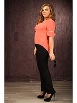 Трикотажные женские брюки больших размеров, фото 2