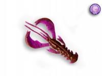 """Силиконовая приманка Crazy Fish Nimble 4"""", col.12 (Ultraviolet)"""