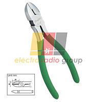 Кусачки Pro'sKit  1PK-067, діагональні, мідний дріт до 2,6 мм, 165 мм