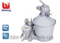 Насос-фильтр песочный для бассейнов 5678л/ч Bestway (58199) (58404)