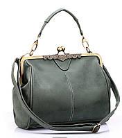 Оригинальная женская сумка выполнена в винтажном стиле. Высокое качество. Интернет магазин. Купить. Код: КД78