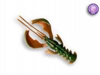 """Силиконовая приманка Crazy Fish Nimble 4"""", col.14 (UV Motor Oil)"""