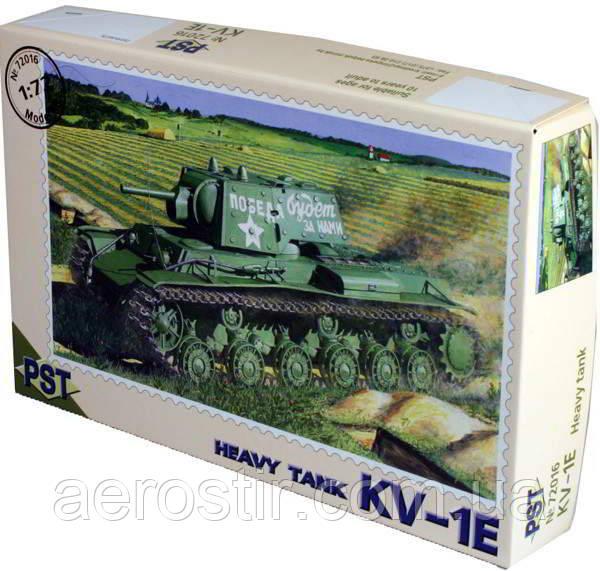 Танк  КВ-1Э    1\72    PST 72016
