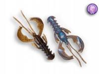 """Силиконовая приманка Crazy Fish Nimble 4"""", col.3D (Swamp Pearl)"""