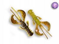 """Силиконовая приманка Crazy Fish Nimble 4"""", col.4D (Chart Swamp)"""