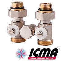 Icma 902 узел нижнего подключения 1/2х3/4 прямой однотрубный