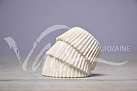 Бумажные формы  для выпечки, белые, ∅40, 1000 шт