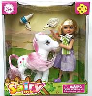 Кукла  с пони Defa Lucy (8303)