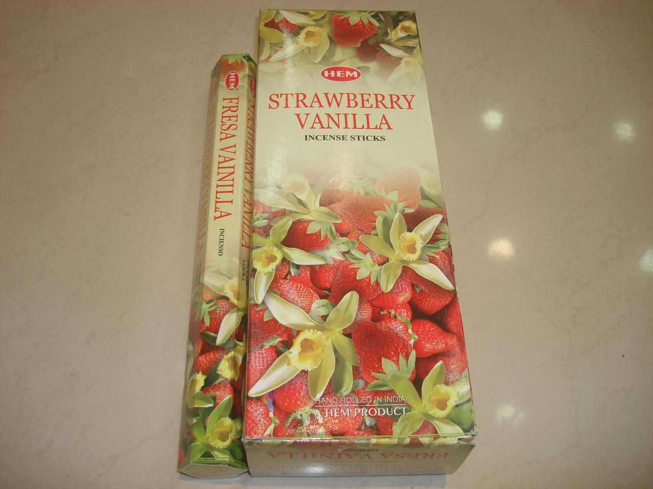 Strawberry Vanilla Hem